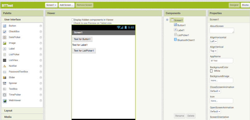 Arduino (IoT) Simple Tutorial appinventor2 Santiapps Marcio Valenzuela